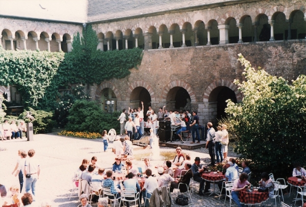 In Trier mochten we vlakbij de Porte Nigra zingen